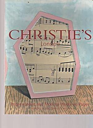 Christies June 2004 Impressionist & Modern Works: Christies
