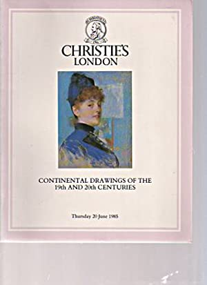 Christies June 1985 Continental Drawings of the: Christies