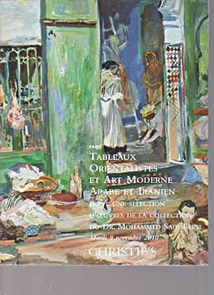 Christies 2010 Orientalist & Modern Arab &: Christies