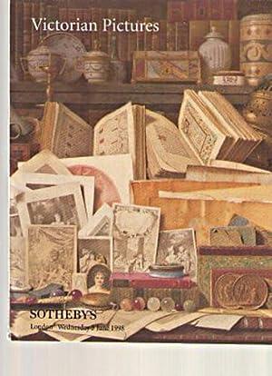 Sothebys June 1998 Victorian Pictures: Sothebys