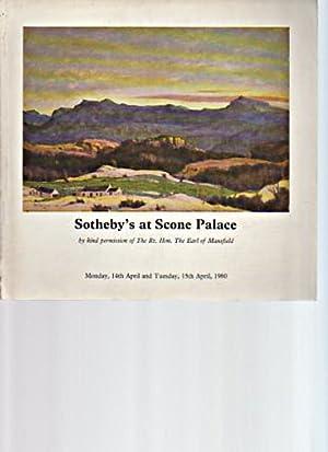 Sothebys 1980 Scottish Paintings, Silver, etc: Sothebys