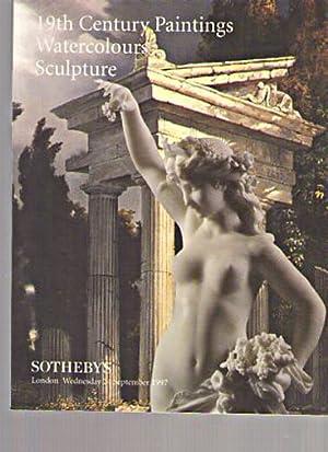 Sothebys 1997 19th Century Paintings, Sculpture, etc: Sothebys