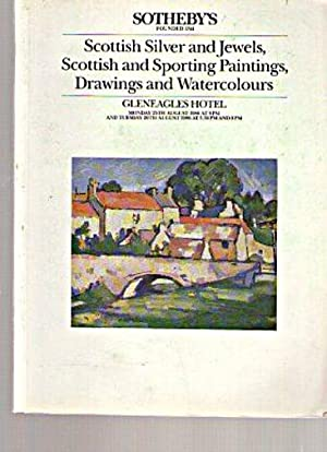Sothebys 1986 Scottish & Sporting Paintings, Silver: Sothebys