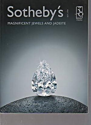 Sothebys October 2003 Magnificent Jewels and Jadeite: Sothebys