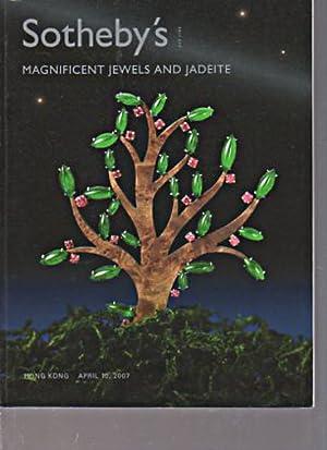 Sothebys 2007 Magnificent Jewels and Jadeite: Sothebys