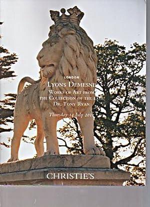 Christies 2011 Lyons Demesne: Christies