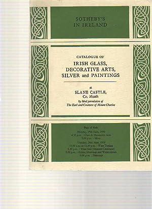 Sothebys 1979 Irish Glass, Silver, Paintings: Sothebys