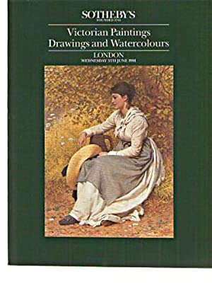 Sothebys 1991 Victorian Paintings, Drawings & Watercolours: Sothebys