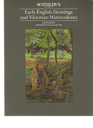 Sothebys 1989 Early English & Victorian Drawings: Sothebys