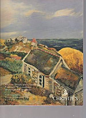 Christies December 1990 Modern British & Continental: Christies