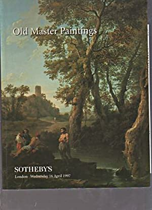 Sothebys April 1997 Old Master Paintings