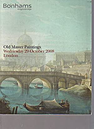 Bonhams October 2008 Old Master Paintings: Bonhams