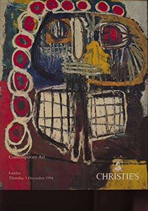 Christies December 1994 Contemporary Art