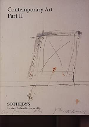 Sothebys 1996 Contemporary Art Part II