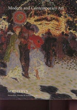 Sothebys 1998 Modern & Contemporary Art: Sothebys