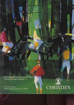 Christies 1991 Modern & Contemporary Paintings, Drawings: Christies
