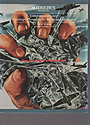 Sothebys 1993 Contemporary Paintings, Photographs Prints: Sothebys