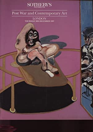 Sothebys December 1992 Post War and Contemporary Art