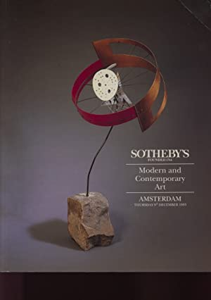 Sothebys 1993 Modern and Contemporary Art: Sothebys