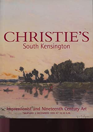 Christies December 1999 Impressionist & 19th Century: Christies