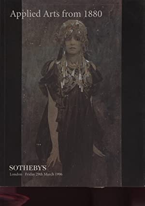 Sothebys 1996 Applied Arts from 1880: Sothebys