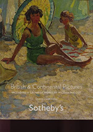 Sothebys March 2008 British & Continental Pictures: Sothebys