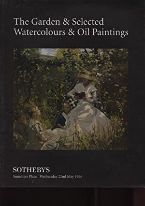 Sothebys 1996 Garden & Selected Watercolours Oil: Sothebys