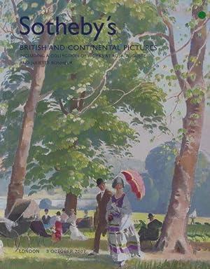 Sothebys 2007 Works by Bonheur & British: Sothebys