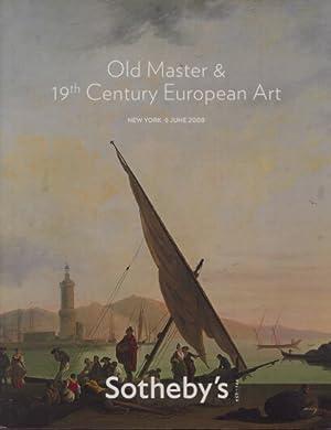 Sothebys 2008 Old Masters & 19th Century: Sothebys