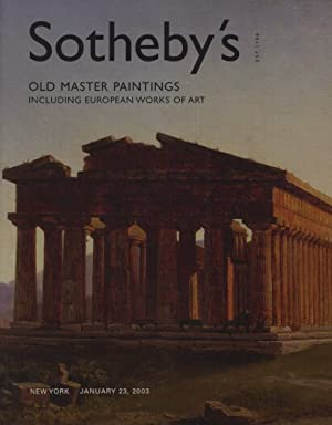 Sothebys 2003 Old Master Paintings & European: Sothebys