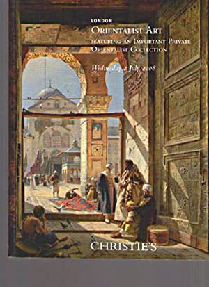 Christies 2008 Orientalist Art inc. Important Private: Christies
