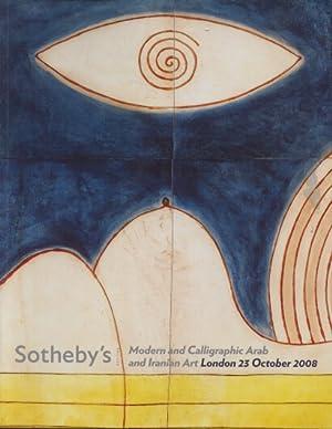 Sothebys 2008 Modern and Calligraphic Arab &: Sothebys