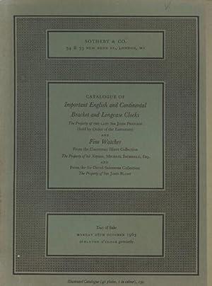 Sothebys 1963 English & Continental Bracket &: Sothebys