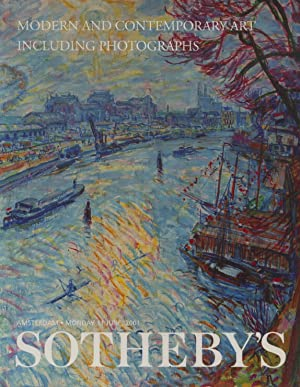 Sothebys 2001 Modern & Contempory Art & Photographs