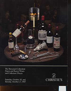 Christies Oct 1987 Bresciani Collection, Finest & Rarest Wines