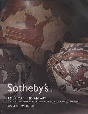 Sothebys May 2007 American Indian Art inc: Sothebys
