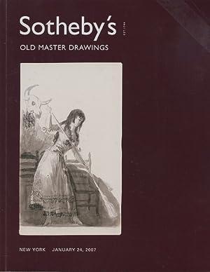 Sothebys January 2007 Old Master Drawings: Sothebys