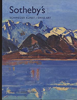 Sothebys December 2006 Swiss Art: Sothebys