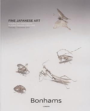 Bonhams November 2013 Fine Japanese Art inc.: Bonhams
