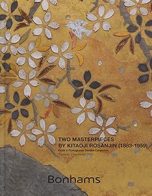 Bonhams November 2013 Two Masterpieces by Kitaoji: Bonhams