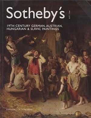 Sothebys June 2005 19th Century German, Austrian,: Sothebys