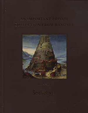 Sothebys March 2007 Important Private Collection from Hanover Volume I