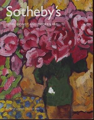 Sothebys July 2006 Impressionist and Modern Art: Sothebys