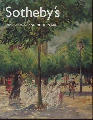 Sothebys October 2006 Impressionist and Modern Art: Sothebys