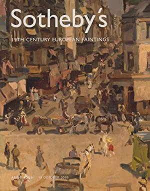 Sothebys October 2005 19th Century European Paintings: Sothebys