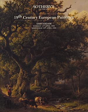 Sothebys April 1992 19th Century European Paintings: Sothebys