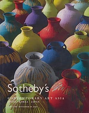 Sothebys September 2006 Contemporary Art Asia -: Sothebys