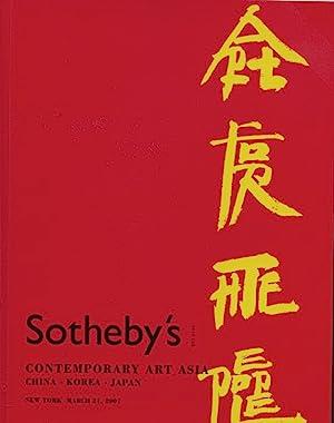 Sothebys March 2007 Contemporary Art Asia -: Sothebys