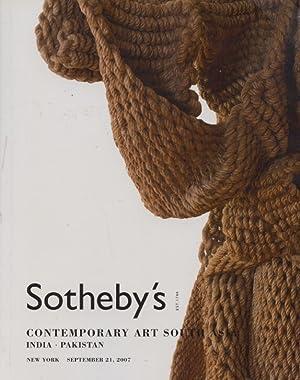 Sothebys September 2007 Contemporary Art South Asia: Sothebys