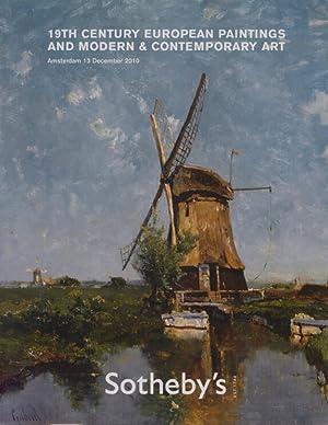 Sothebys Dec 2010 19th Century European Paintings: Sothebys